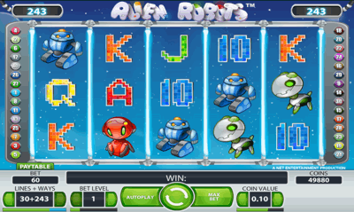 Alien Robots Screenshot