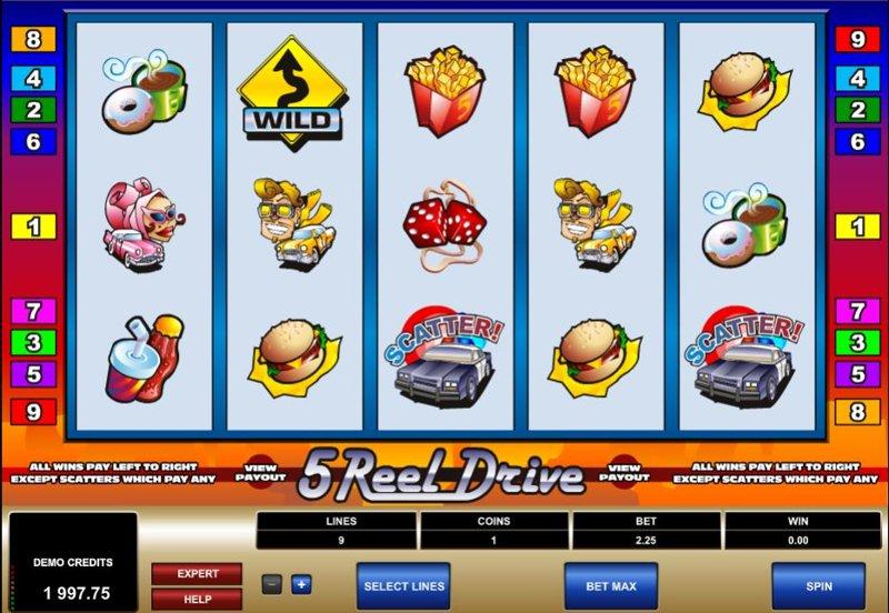 5 Reel Drive 800