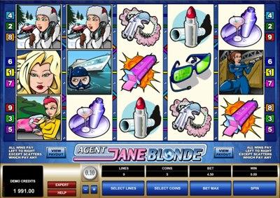 Agent Jane Blonde 400