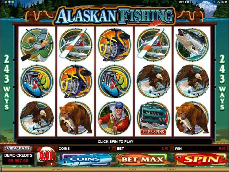 Alaskan Fishing 800