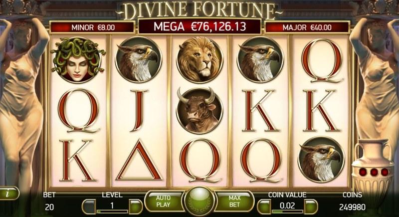 Divine Fortune 800