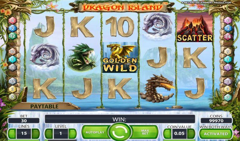 Dragon Island 800