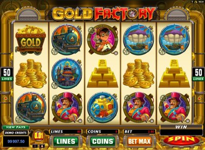 Gold Factory 400