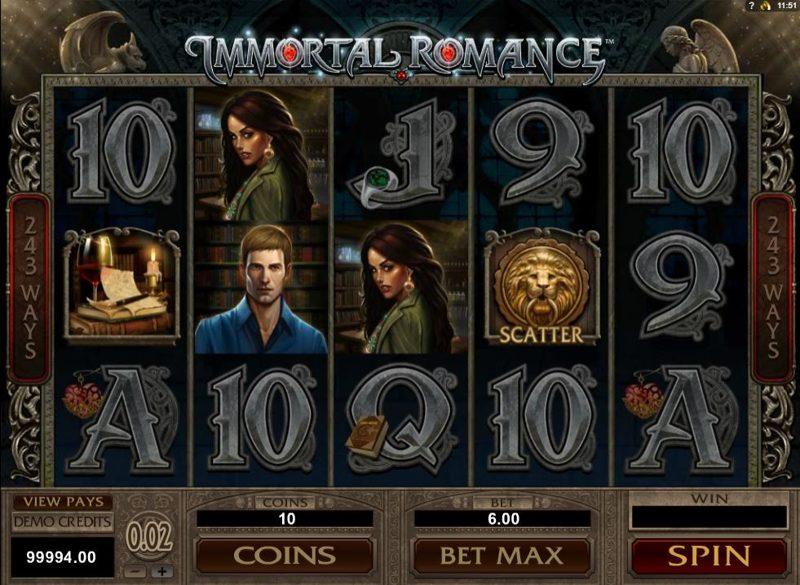 Immortal Romance 800