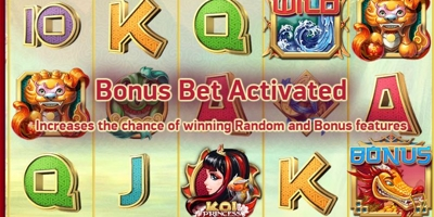 Koi Princess Bonus Bet
