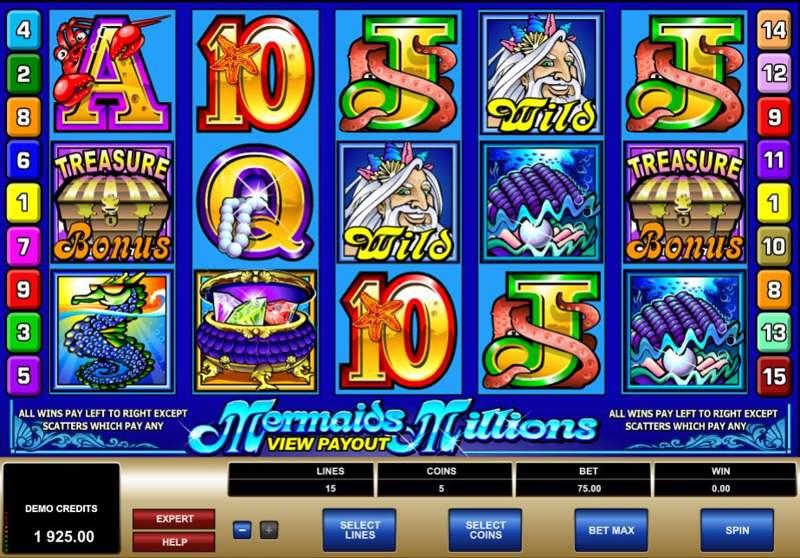 Mermaids Millions 800