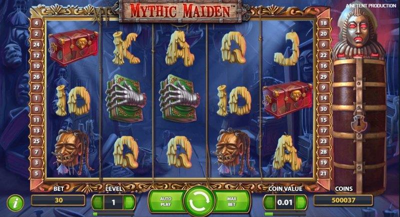 Mythic Maiden 800
