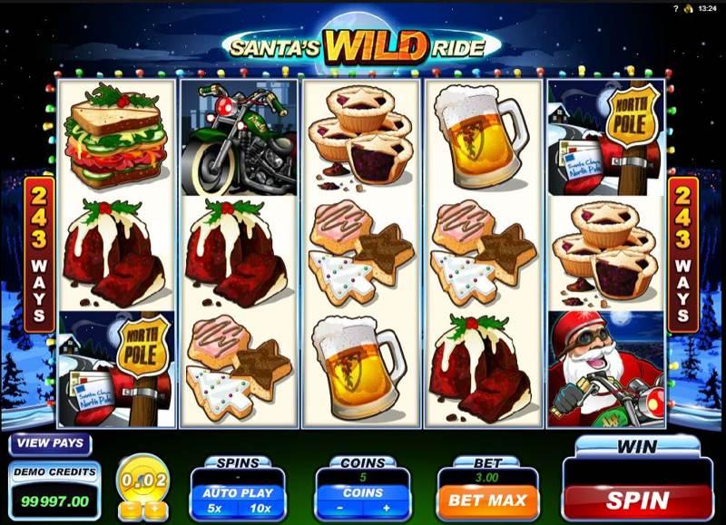 Santas Wild Ride 800