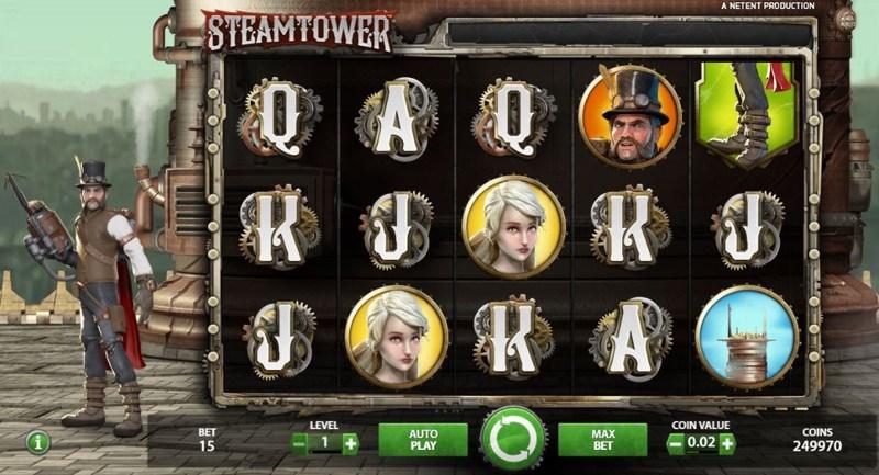 Steamtower 800