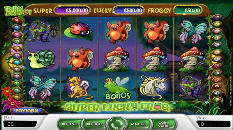 Super Lucky Frog 800