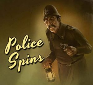 The Invisible Man Police Spins