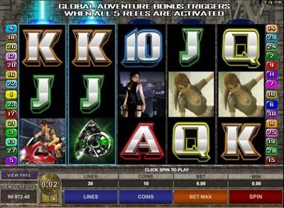 Tomb Raider Secret Spins 400