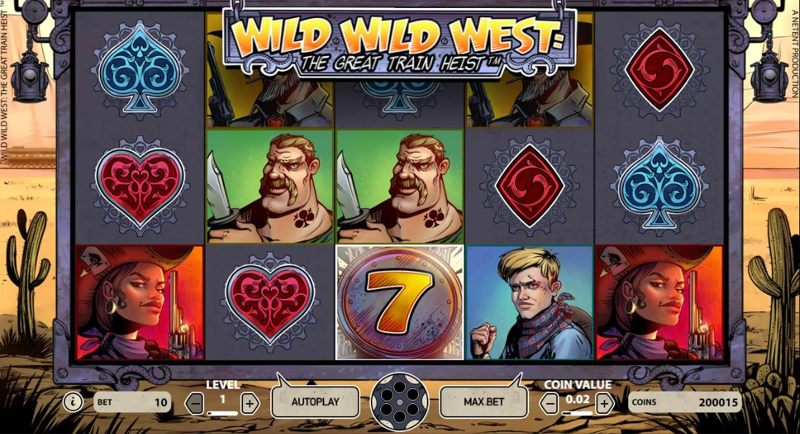 Wild Wild West Great Train Heist 800
