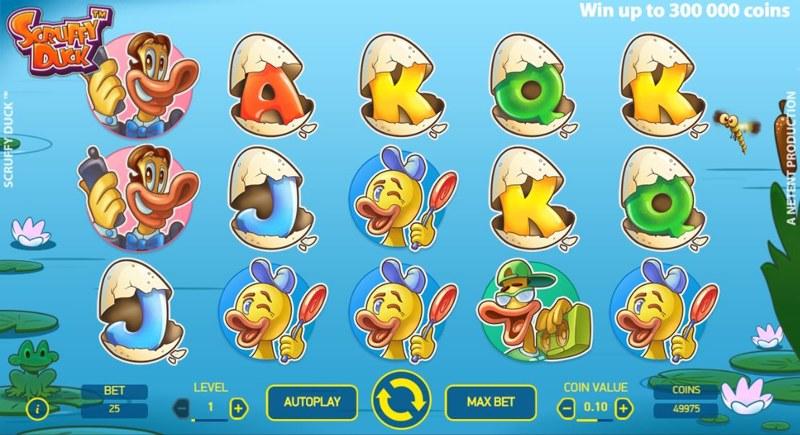 Scruffy Duck 800