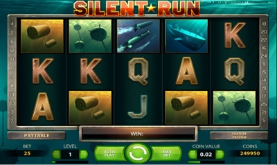 Silent Run 400